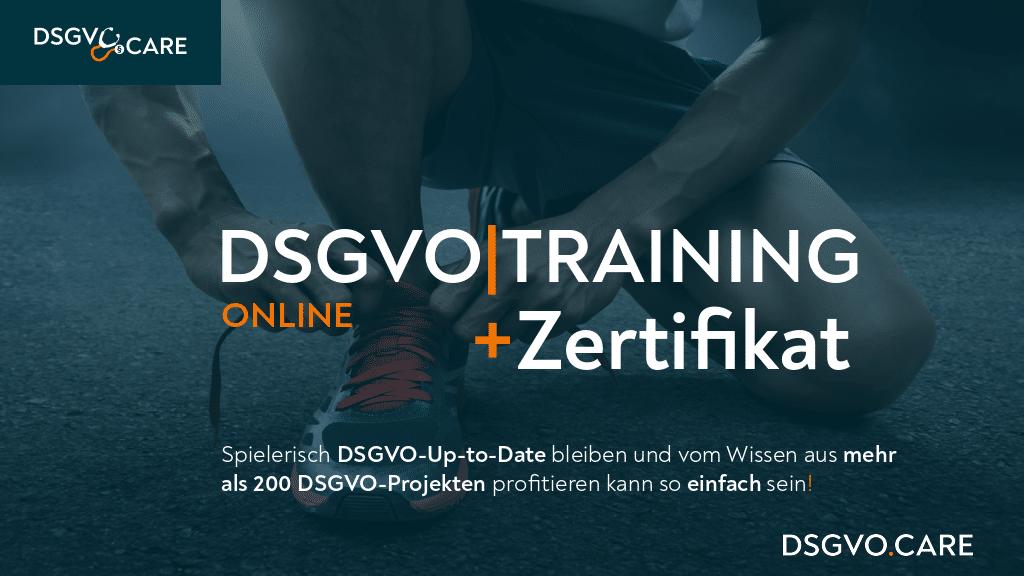 DSGVO Training | © https://dsgvo.care/